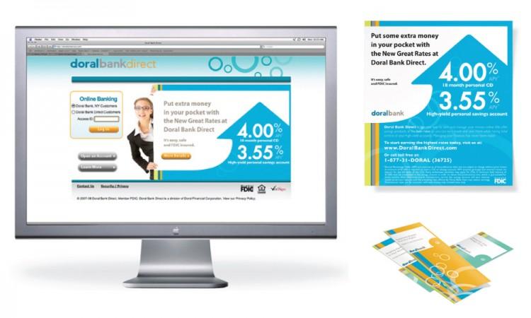 Corporate Broschüren Webseite Banken