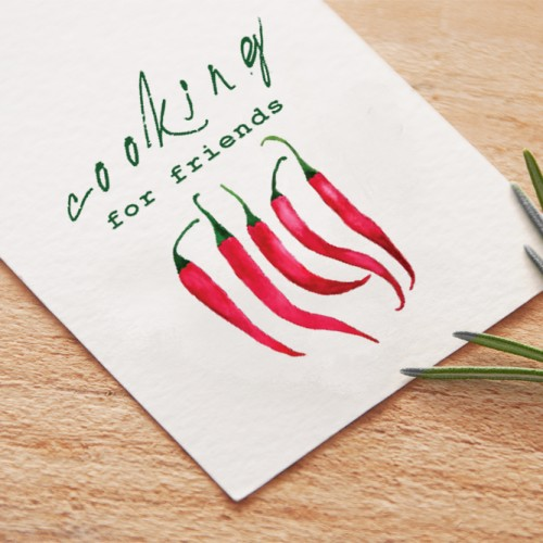 Steffi K Corporate Identity CI Cooking for friends blog