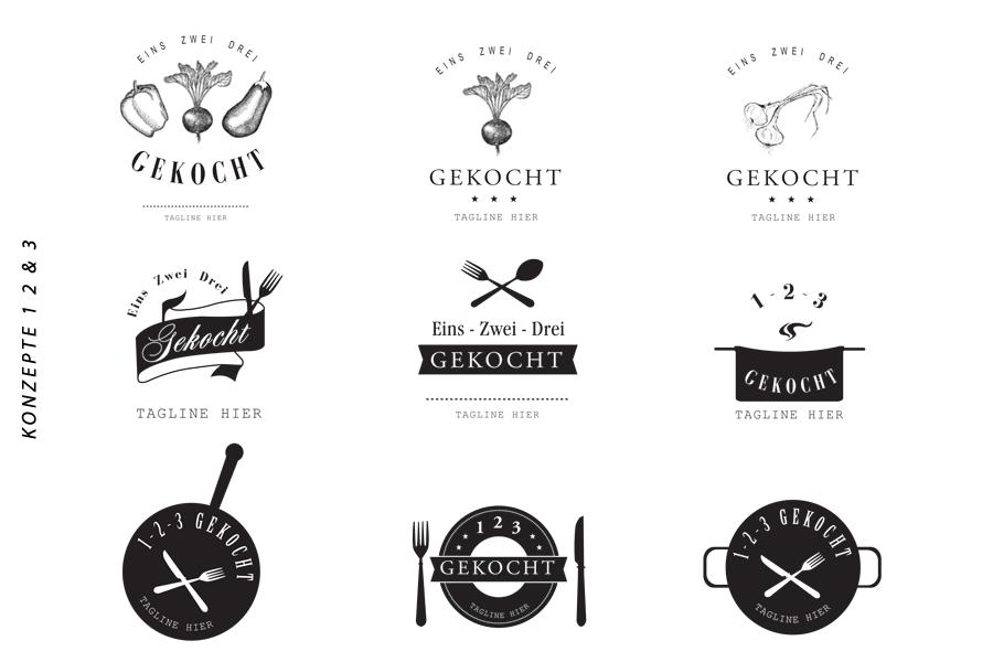 SteffiK_Portfolio_123 Gekocht_Logo_Concepts