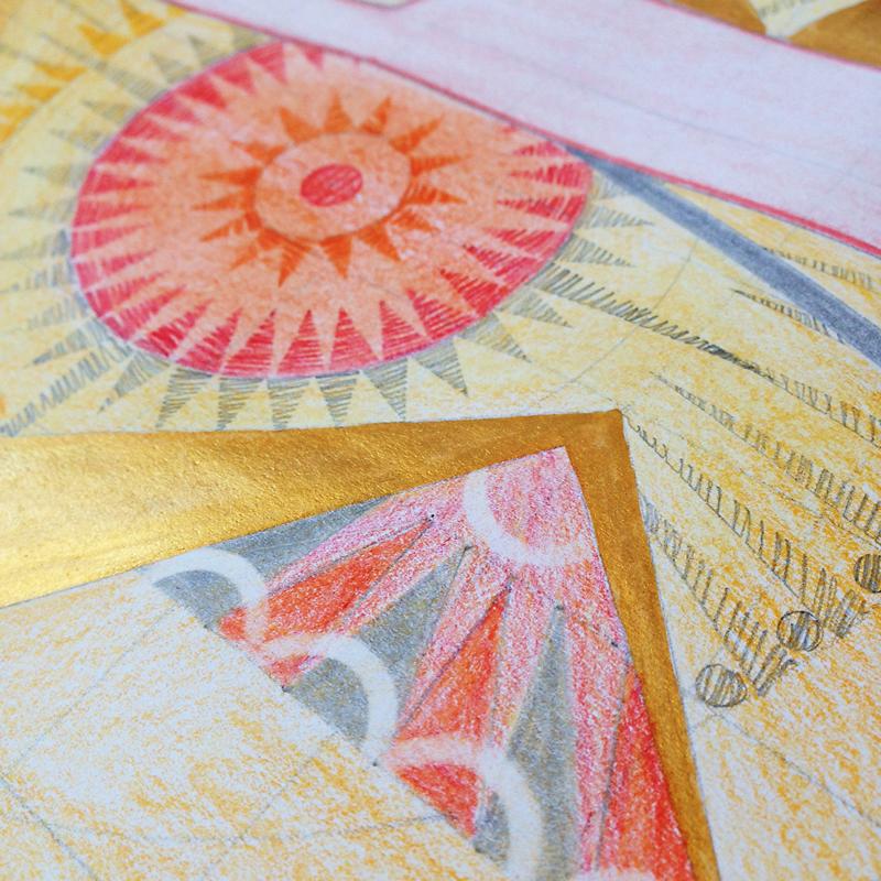 SteffiKaili_Artwork_Flamingo_Detail